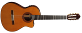 Almansa - A-435 Thin Classical Guitar w/ Cutaway and Electronics - Cedar/Laminated Rosewood