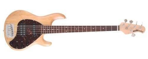 ernie ball music man stingray 5 string bass guitar natural long mcquade musical instruments. Black Bedroom Furniture Sets. Home Design Ideas