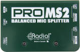 Radial - ProMS2 Mic Splitter, 1 In 2 Direct Outs