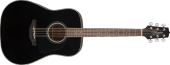 Takamine - G30 Series Dreadnought Acoustic - Black Gloss