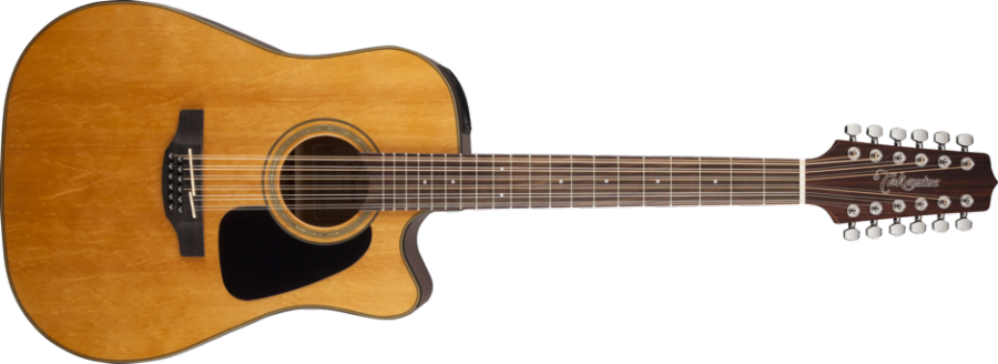 takamine dreadnought acoustic electric 12 string cutaway natural gloss long mcquade. Black Bedroom Furniture Sets. Home Design Ideas