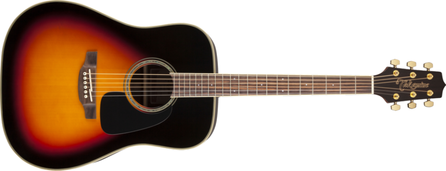 takamine dreadnought acoustic rosewood spruce top brown sunburst gloss long mcquade. Black Bedroom Furniture Sets. Home Design Ideas