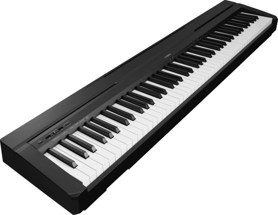 yamaha p35 88 note digital piano black long mcquade
