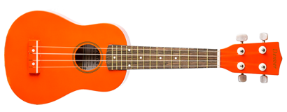 Soprano Ukulele - Orange