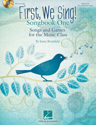 First, We Sing! Songbook One - Brumfield - Book/CD