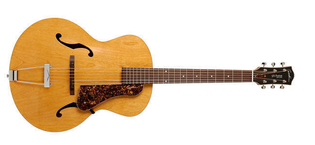 godin guitars 5th avenue archtop acoustic guitar natural long mcquade musical instruments. Black Bedroom Furniture Sets. Home Design Ideas