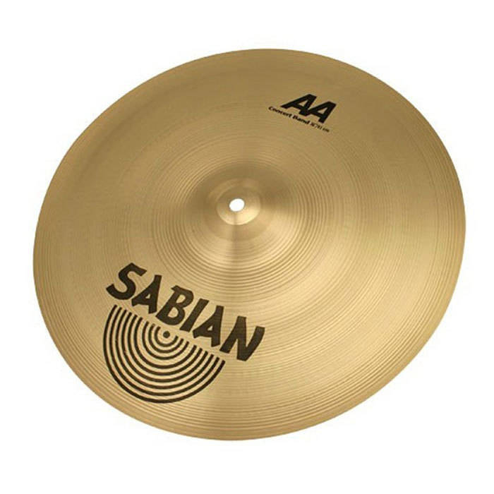 sabian aa concert band cymbals pair 18 inch long mcquade musical instruments. Black Bedroom Furniture Sets. Home Design Ideas