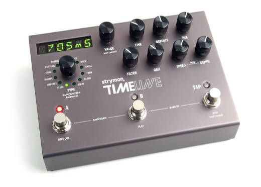 Timeline Multidimension Delay Effects Unit