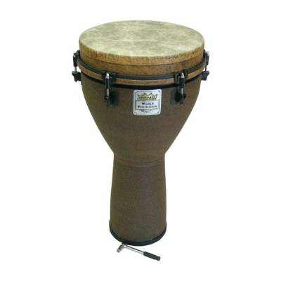 Djembe - 25x14 - Fabric Earth Finish