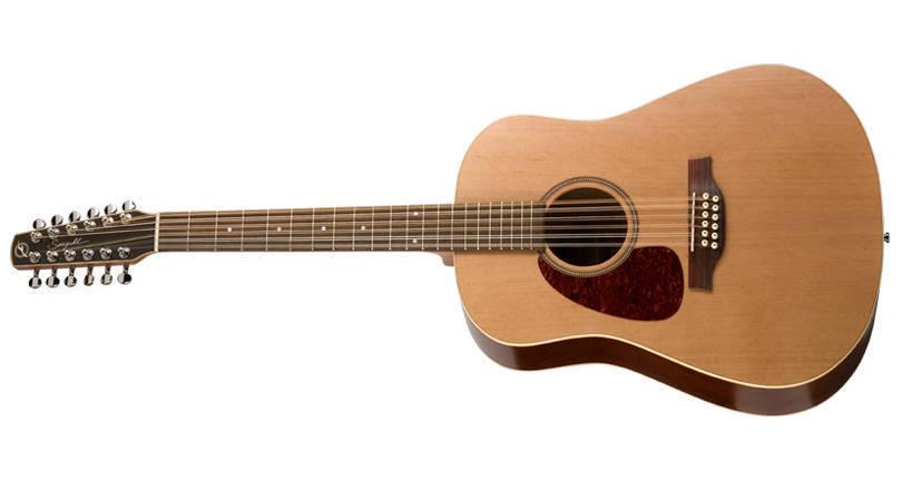 seagull guitars coastline s12 cedar acoustic 12 string guitar left handed long mcquade. Black Bedroom Furniture Sets. Home Design Ideas