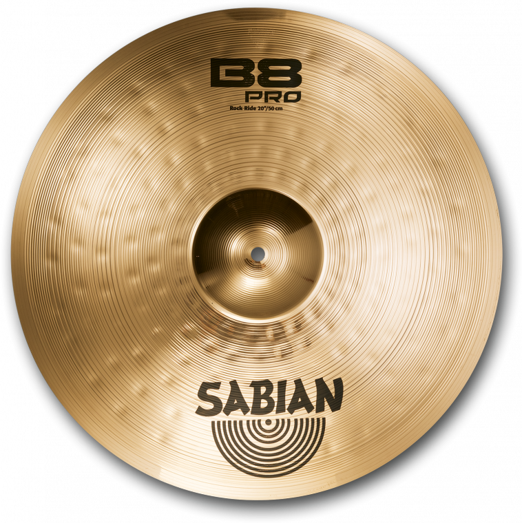sabian b8 rock ride cymbal 20 inch long mcquade musical instruments. Black Bedroom Furniture Sets. Home Design Ideas