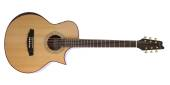 Denver - Orchestra Model Spruce Top Cutaway Electric Acoustic Guitar - Natural