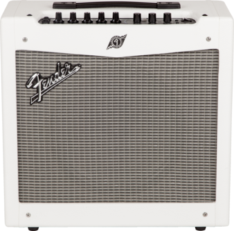 fender mustang 2 guitar amp v2 white tolex long mcquade musical instruments. Black Bedroom Furniture Sets. Home Design Ideas
