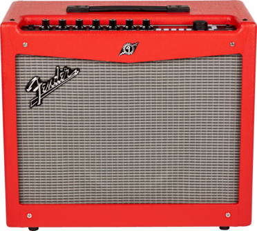 Fender Mustang 3 Guitar Amp V2 Red Tolex Long