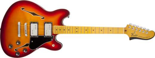 Starcaster Maple Neck Guitar  - Aged Cherry Burst