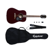 Epiphone - Starling Acoustic Guitar Starter Pack - Wine Red