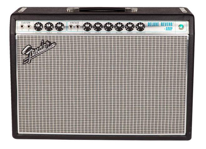 16508d4ba1c2f Fender  68 Custom Deluxe Reverb Guitar Amp - Long   McQuade Musical ...