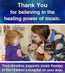Long & McQuade - Music Therapy Fundraising Drive