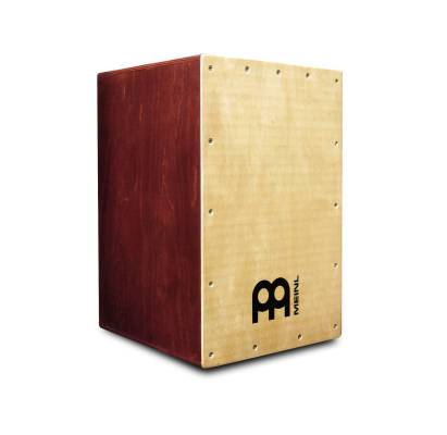Headliner Cajon Wine Red Sides - Birch Frontplate
