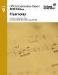 Frederick Harris Music Company - RCM Official Examination Papers, 2020 Edition: Level 9 Harmony - Book