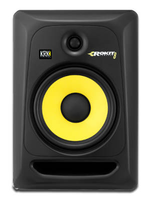Rokit Powered Generation 3 Studio Monitor - 8 inch