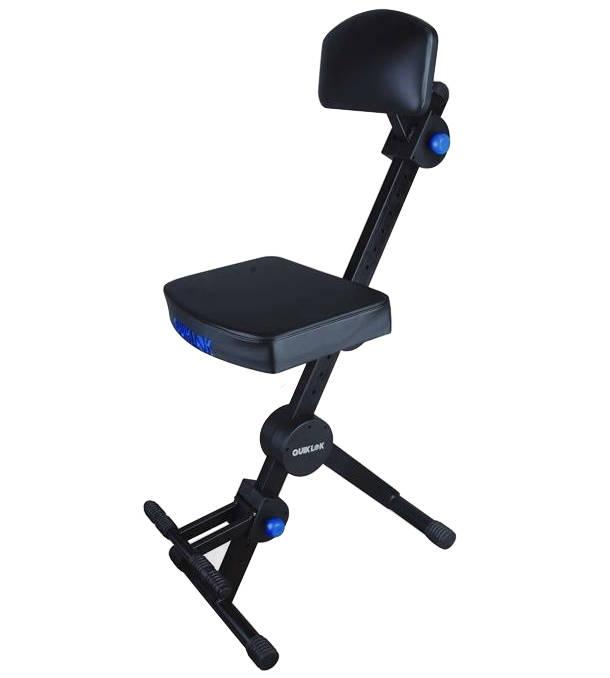 Miraculous Quiklok Adjustable Musicians Stool W Adjustable Footrest And Back Rest Cjindustries Chair Design For Home Cjindustriesco