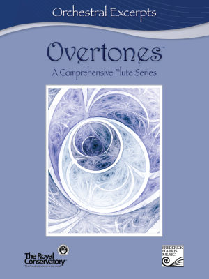 Overtones: A Comprehensive Flute Series - Orchestral Excerpts - Book