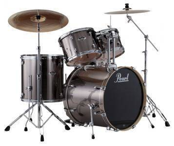 Pearl Export Series 5 Piece Drum Kit W Hardware Cymbals