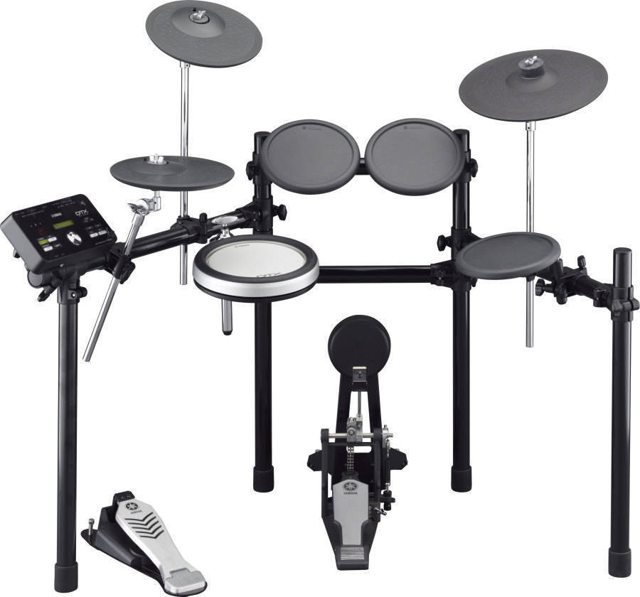 Yamaha dtx 502 series electronic drum kit long mcquade musical dtx 502 series electronic drum kit solutioingenieria Images