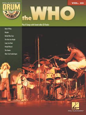 Hal leonard drum play along books
