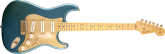 Fender - 1956 Relic Stratocaster Guitar - Aged Lake Placid Blue