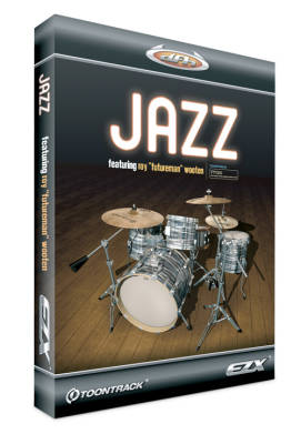 EZX Jazz (Expansion for EZ Drummer)