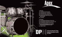 Apex - Deluxe Drum Kit Package