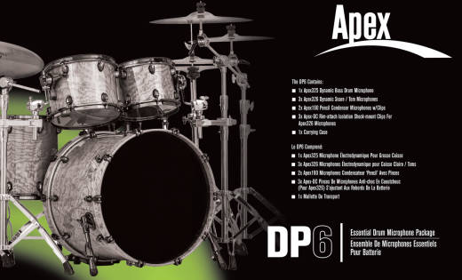 Deluxe Drum Kit Package