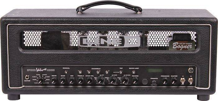 line 6 spider valve mkii 100 watt head long mcquade musical instruments. Black Bedroom Furniture Sets. Home Design Ideas