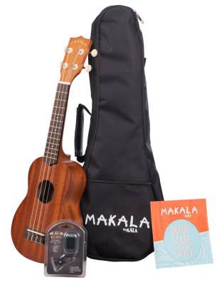 Soprano Ukulele Pack with Bag & Tuner