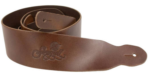 Guitar Strap - Standard Brown Leather