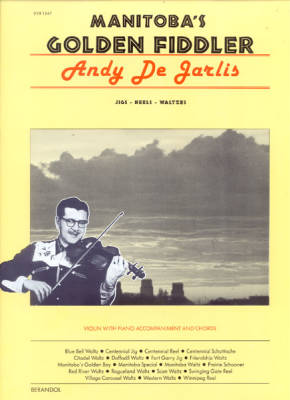 Manitoba's Golden Fiddler - Dejarlis - Book