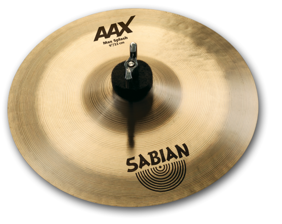 sabian aax max splash cymbal 9 inch long mcquade musical instruments. Black Bedroom Furniture Sets. Home Design Ideas