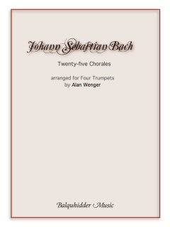 Twenty-five Chorales - Bach/Wenger -  4 Trumpets - Full Score