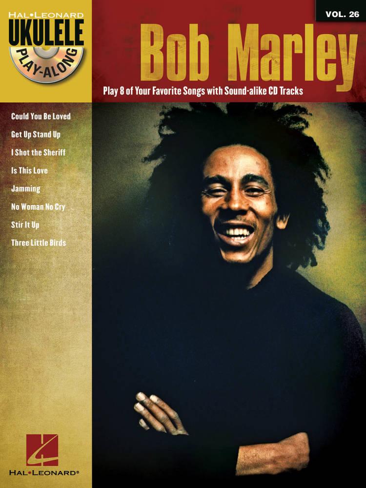 Hal Leonard Bob Marley Ukulele Play Along Volume 26 Bookaudio