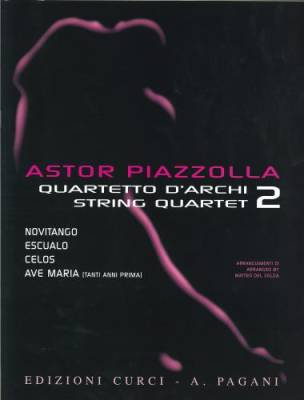 Selected Pieces Arranged For String Quartet, Volume 2 - Piazzolla - Score/Parts