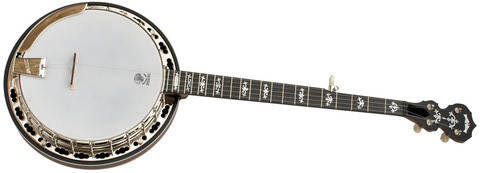 Sierra Maple Resonator 5 String Banjo