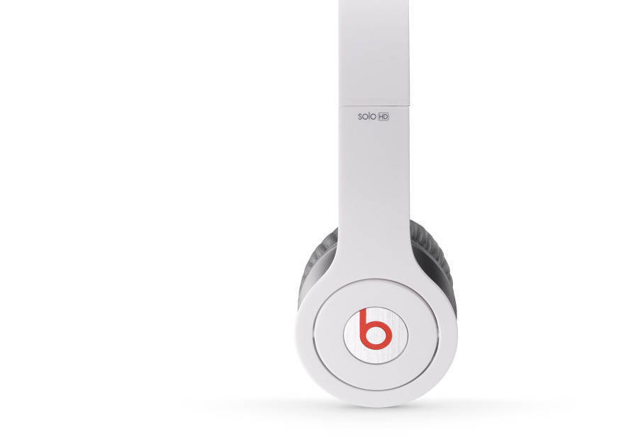 7d316a630d5 Beats By Dre Solo Hd On Ear Headphones - White - Long & McQuade Musical  Instruments