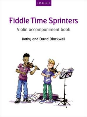 Fiddle Time Sprinters - Blackwell - Violin Accompaniment/Opt. Duet
