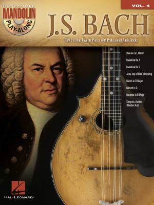 J. S. Bach: Mandolin Play-Along Volume 4 - Book/CD