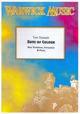 Suite Of Colour - Dossett -  Bass Trombone, Percussion & Piano