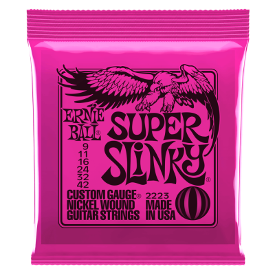 Super Slinky 9-42 Electric Strings