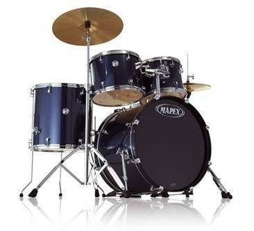 Mapex Voyager 5 Piece Drum Kit With Cymbals Hardware