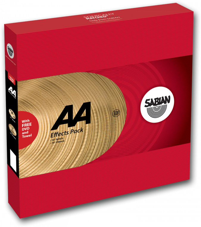 sabian aa effects cymbal pack long mcquade musical instruments. Black Bedroom Furniture Sets. Home Design Ideas